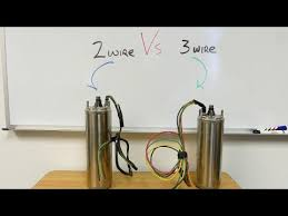 Franklin Electric Wire Sizing Chart 2 Wire Vs 3 Wire Well Pump Motors