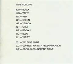 electrical wire color codes fuel gauge and bulb issue pelican porsche gt fans site