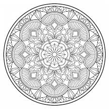 Mandala Ad 25 Geometricoring Page Pdf Download Etsy Pages Book File
