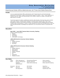 Sample Administrative Assistant Resume No Experience Valid Easy Fice