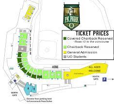 Principal Park Seating Chart Pk Park University Of Oregon Athletics
