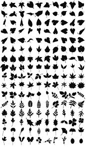 木のシルエット素材 無料ダウンロード