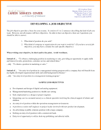 Marketing Objective Resume Examples 2 Biodate Format For
