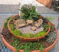 Small Picture Fairy Garden Ideas 33 Miniature Garden Designs Fairy Gardens