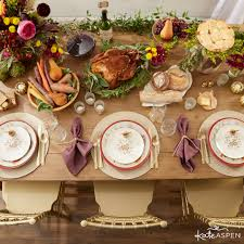 Tablescape Place Setting | Thanksgiving Table Setting | Kate Aspen