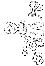 Small Picture Blues clues coloring pages with joe ColoringStar