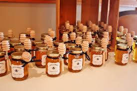 Decorative Honey Jars DIY Honey Jar Wedding Favors Wedding Wednesday Life at Cloverhill 2