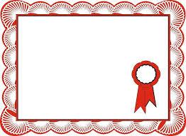 Certificate Border Template Free Printable Borders Award And