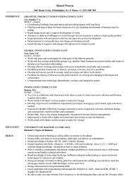 Innovation Consultant Resume Samples Velvet Jobs