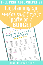 13 Brilliant Tips For Diy Party Planning On A Budget