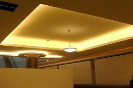 tray ceiling lighting ideas. Double Tray Ceiling With Rope Lighting Led Kitchen Lights Ideas