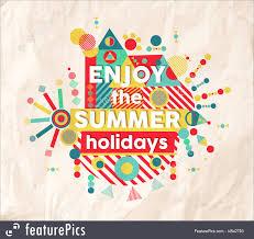 Summer Fun Designs Illustration Of Enjoy Summer Fun Quote Poster Design
