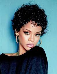 Short Curly Hairstyles For Women 30 Best Quite Nice Short Curly Hair Pics Of Rihanna Curly Hair Nice