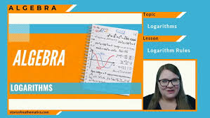 logarithm rules explanation examples