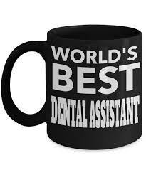 graduation gifts dental istant mug worlds best dental istant front