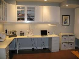 l shaped desk ikea with floating shelves