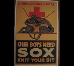 Center – U For Crochet s Propaganda Knit Wwi Knitting And