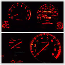 2000 F150 Instrument Cluster Lights Wljh 6 Pack Red Super Bright 3030 3smd T5 Canbus Error Free Red Instrument Cluster Panel Dash Light 74 Led Bulb Plug And Play