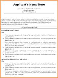 Create A Resume Fascinating Create A Resume In Ms Word Using Template