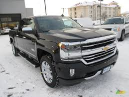 All Chevy chevy 1500 high country : 2016 Black Chevrolet Silverado 1500 High Country Crew Cab 4x4 ...