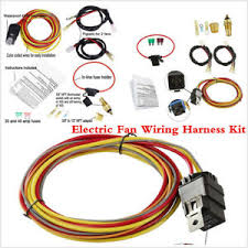 universal car dual electric cooling fan wiring harness kit 40a relay details about universal car dual electric cooling fan wiring harness kit 40a relay accessories