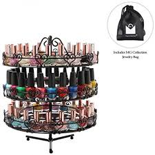 Carousel Display Stand Delectable Buy 32Tier Metal Heart Design Rotating Nail Polish Carous