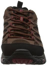 Vibram Merrell Mens Moab Gore Tex Low Rise Hiking Shoes