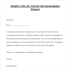 samples of a letter of recommendation 28 letters of recommendation for teacher pdf doc free