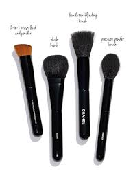 chanel makeup brushes the beauty look book