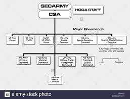 Us Army Organization Chart Stock Photo 129539580 Alamy