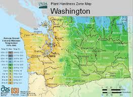 washington planting zones usda map of washington growing zones