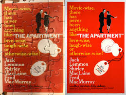 Building My Movie Posters Puzzle The Apartment Lebeaus Le Blog