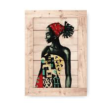 african woman wall art mdf print poster authenturkish on african woman wall art with wood grain african goddess modern wall hanging wall art mdf
