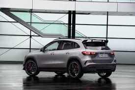 Obviously, the main differences between the two models are the powertrains. 2021 Mercedes Amg Gla 45 Revealed With 382 Hp Gla 45 Specs