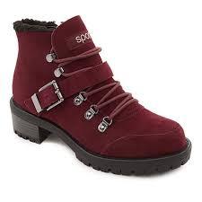 Sporto Katie Waterproof Suede Lace Up Boot