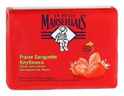 Le Petit Marseillais <b>мыло экстрамягкое клубника 90г</b> - купить в ...