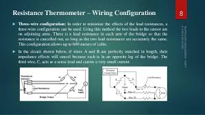 temperature measurement part ii resistance thermometer wiring configuration