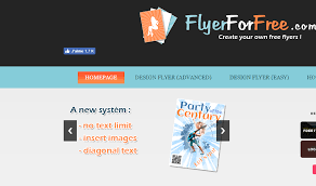 How To Make A Flyer Online Free Flyerforfree Com Create Your Own Free Flyers Online