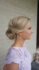 side bun prom hair by alexandrea team sbb southern belle beauty knoxville s on location glam squad available nationwide