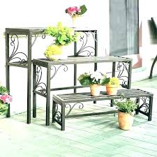outdoor plant shelf plant stan outdoors tiered outdoor plant d shelves garden items wooden display plant