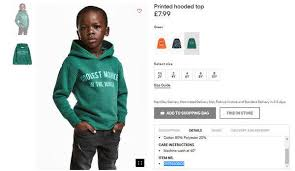 In The Shirt H M Apologizes For Monkey Image Featuring Black Child The New