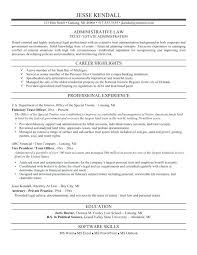 Lawyer Resume Example Cool Corporate Lawyer Resume Sample Bar Ideal Legal Examples Free Career