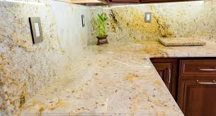 colonial gold granite kitchen counter top