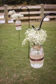 Decorated Jars For Weddings mason jars with flowers for weddings best 100 mason jar weddings 7