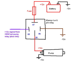 how to wire a pin relay switch diagram how image 4 pin relay wiring diagram horn wiring diagrams on how to wire a 5 pin relay