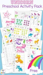 fun free printable unicorn activities for kids toddlers and preers will love the coloring pages