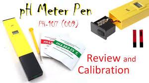 Ph Meter Calibration Ph Meter Ph 107 Ph 009 In Depth Review Calibration Pen Atc