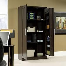 sauder homeplus swing out storage cabinet  hayneedle