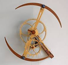 free wooden gear clock plans woodworking projects plans