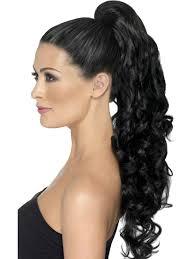 Hairextensions Op Clip Zwart Krul 123feestpruikennl